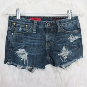 💖 AG Adriano Goldschmied Upcycled Shorts 💖